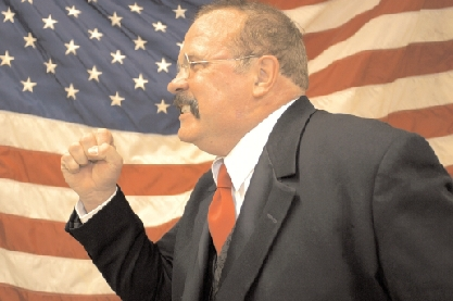 Teddy Roosevelt as portrayed by Ted Zalewski